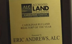 land sales award